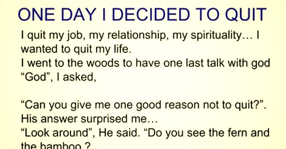 I Quit My Job My Relationship My Spirituality  I Wanted To Quit