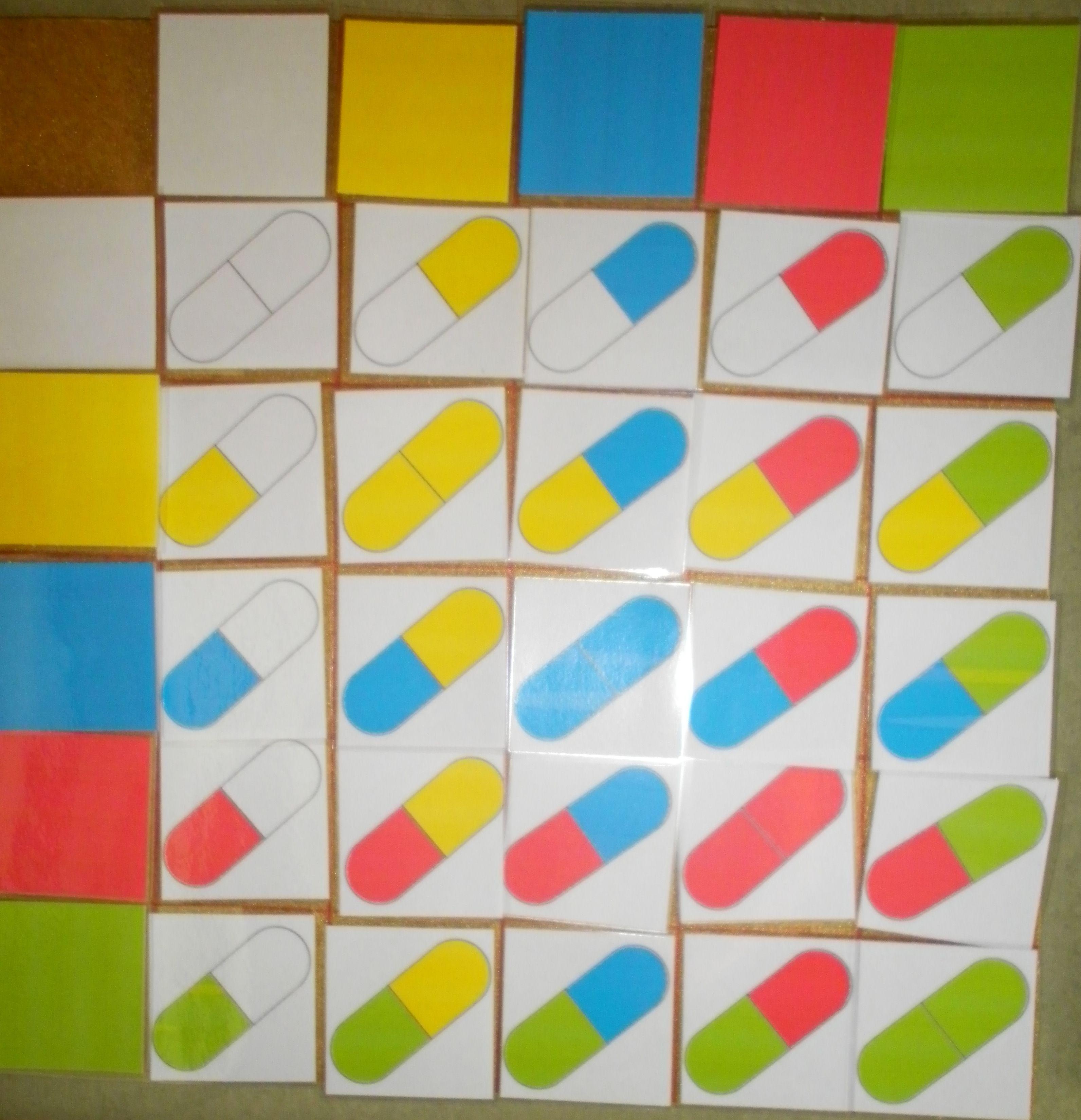 Matrix Niveau 4 Kleuren Voorloper Van Een Matrix Met