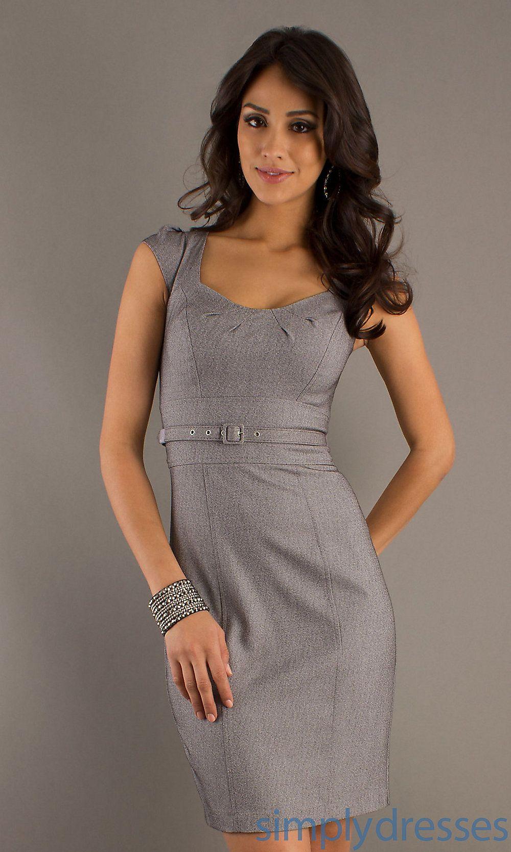 8f86ade9870c Grey Sheath Dress. Looks like a really comfy fabric