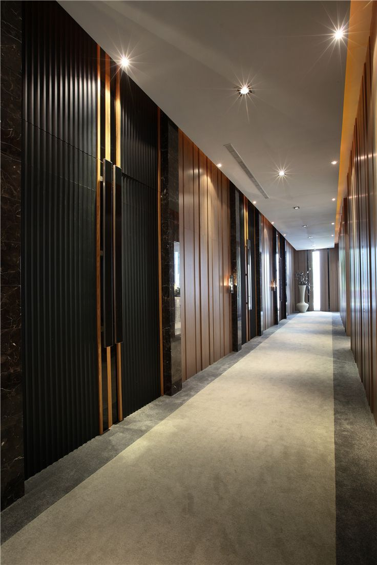contemporary modern minimalistic entrance hallway, office with