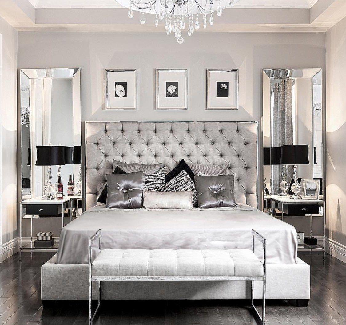 Modern Glam Bedroom Glamorous Bedroom Decor Glamourous Bedroom