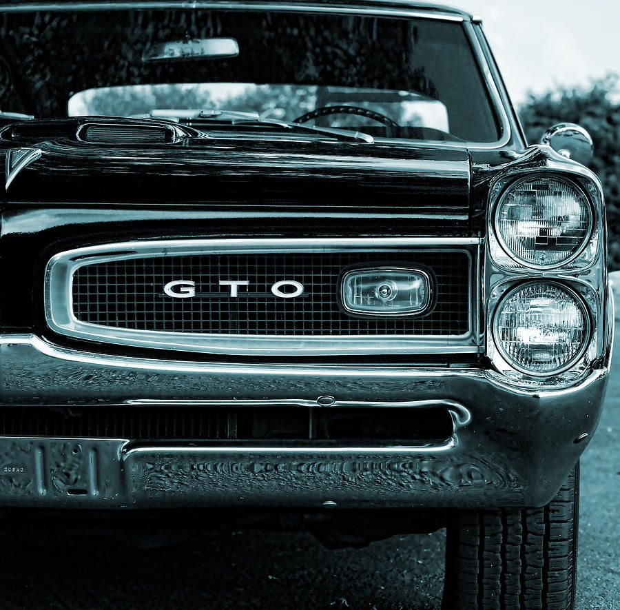 1966 Pontiac Gto Photograph  - 1966 Pontiac Gto Fine Art Print
