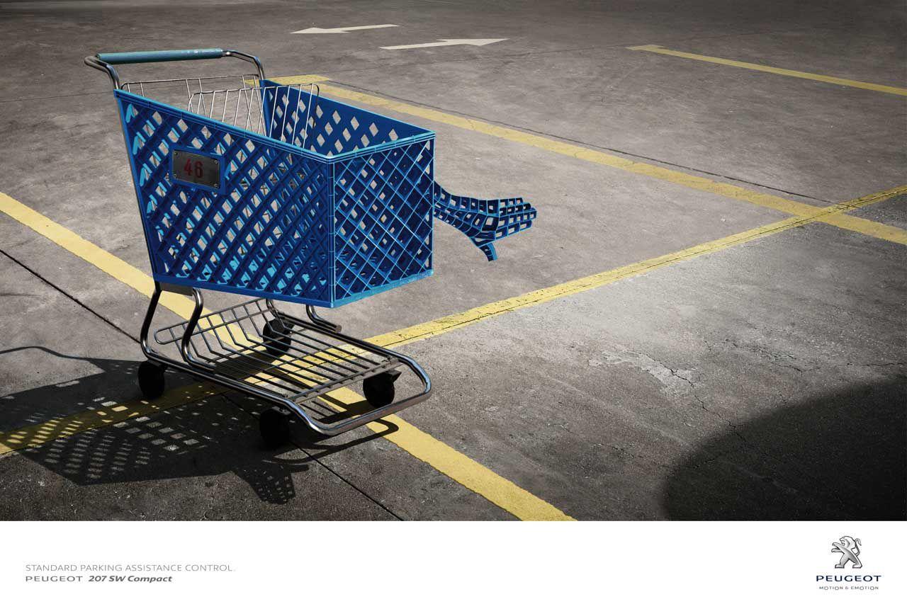 Peugeot Publicites Creatives Street Marketing Publicite