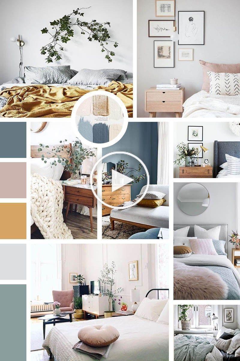 Chambre Moodboard Renovationdechambre Ideesdechambre In 2020 Interior Design Mood Board Trending Decor Cheap Living Room Decor