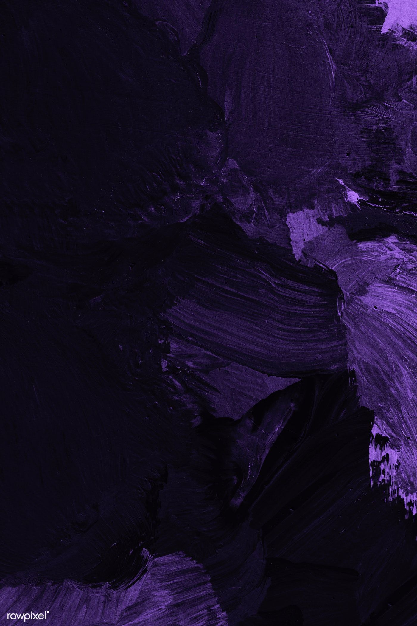 Download Premium Illustration Of Dark Violet Oil Paint Strokes Textured Dark Purple Aesthetic Dark Purple Wallpaper Purple Wallpaper
