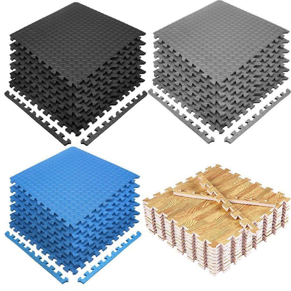 Details About Lot 24 2400sq Ft Eva Foam Floor Interlocking Mat