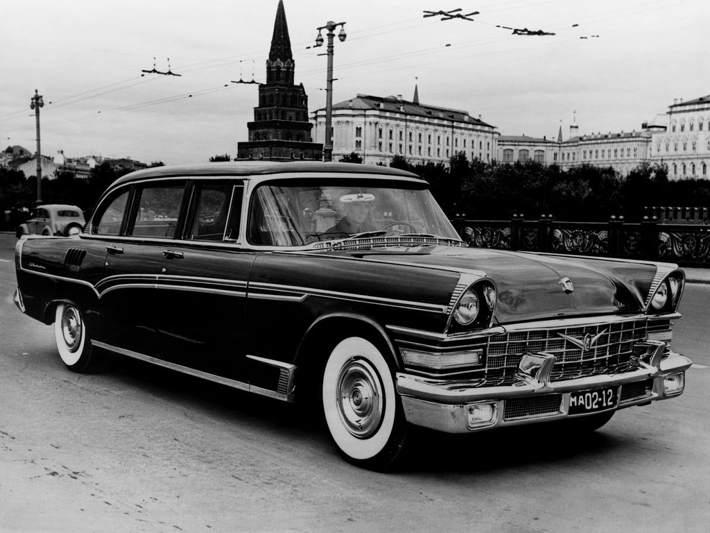 1958 Russian ZiL 111 (With images) Automobile, Cars