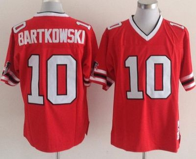 on sale 2c004 985c0 Atlanta Falcons Red Replica 10 Steve Bartkowski Red ...