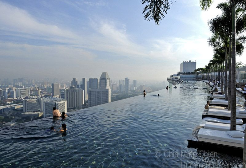 The Skypark At Marina Bay Sands Integrated Resort Singapore At 150 Metres In Length The