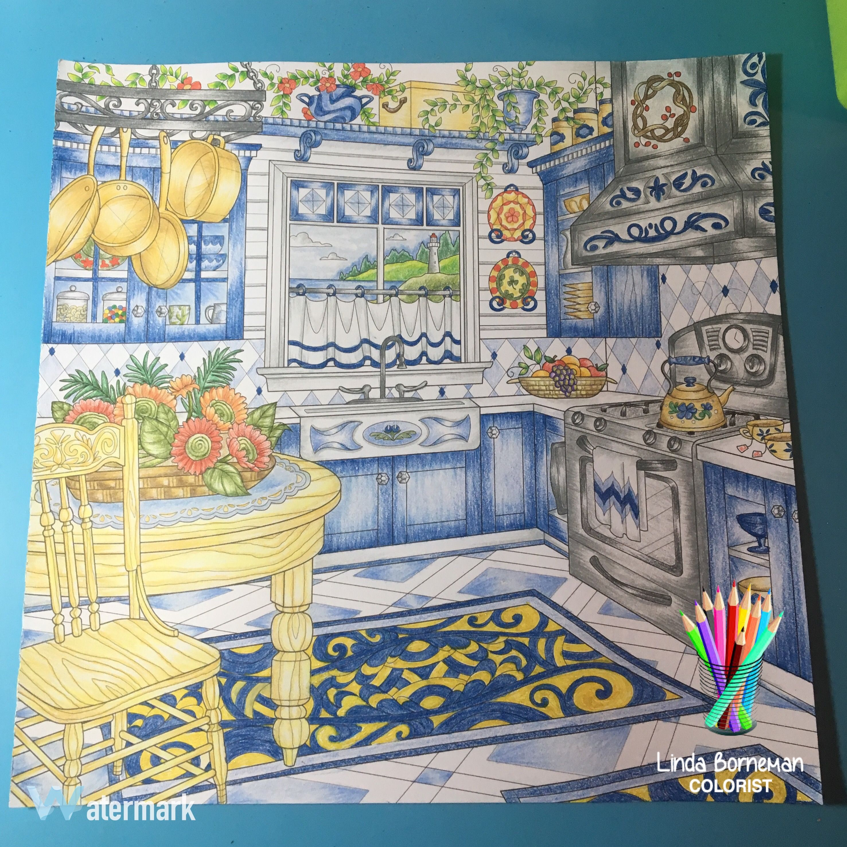 - From Come Home To Color Coloring Book By Debbie Macomber. Colored