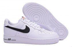 Men's Nike Air Force 1 Low White Black 488298 158 Boys