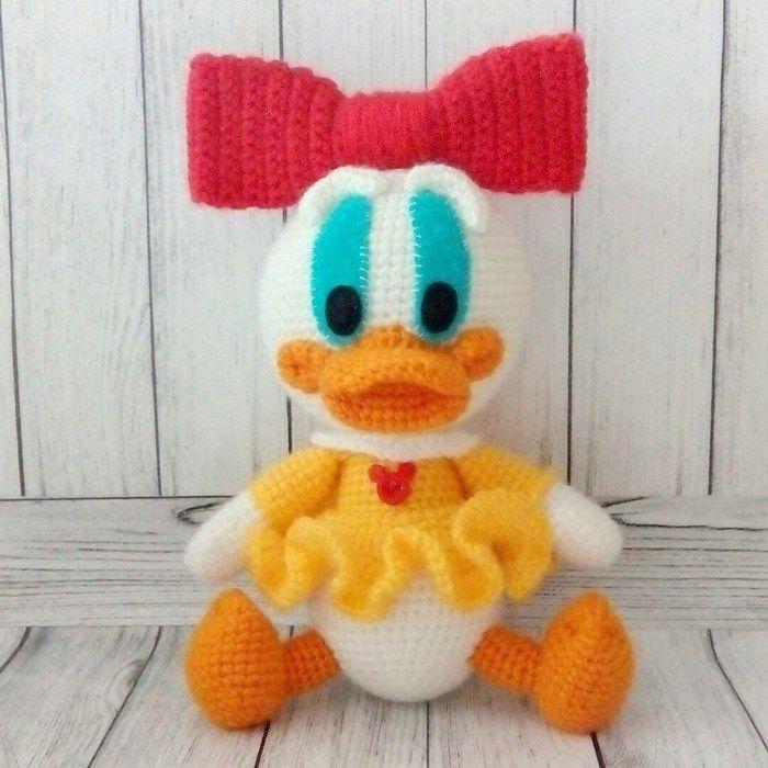 Webby Duck Amigurumi Free Pattern A Mini Pinterest Tricot
