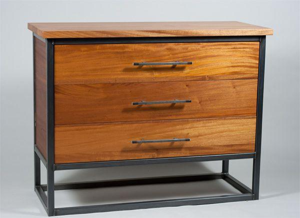 Rustic Modern Dresser Muebles De Acero Muebles De Metal Madera