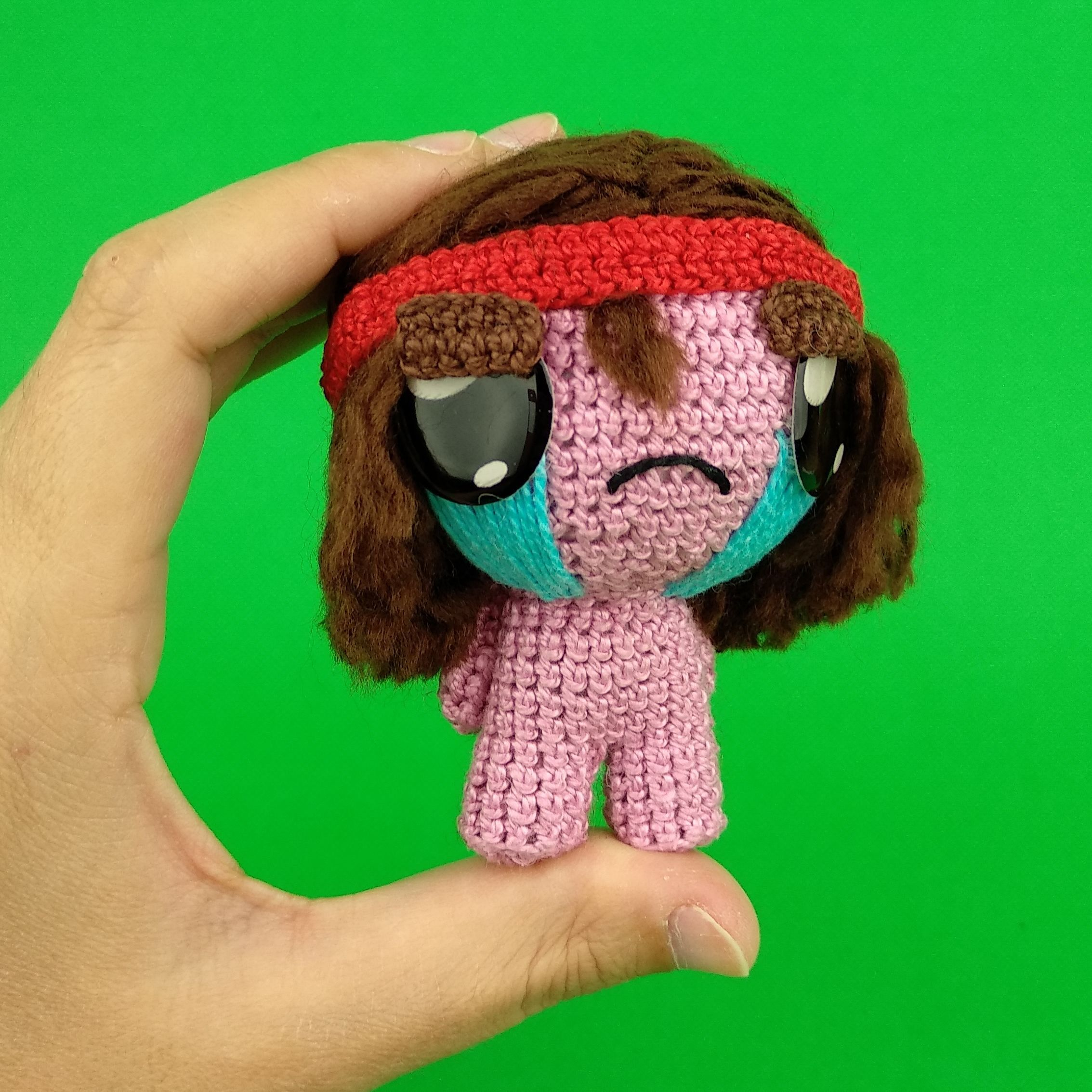Samson Plush, The Binding Of Isaac, Crochet Samson, Samson
