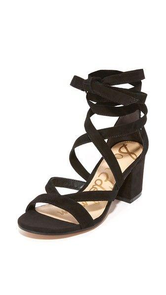 a32a68fa582 SAM EDELMAN Sheri Suede City Sandals.  samedelman  shoes  sandals Lace Up  Sandals