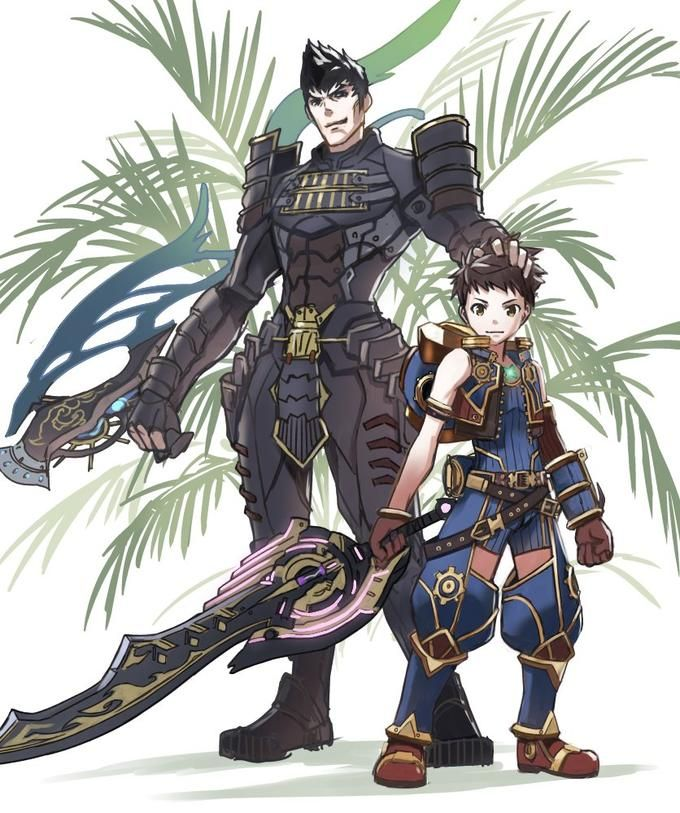 Xenoblade Chronicles 2 Rex Second Outfit