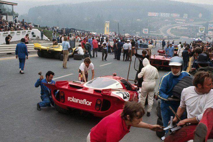 Spa 1000 Kilometres 1971 Porsche rsr, Sports car racing