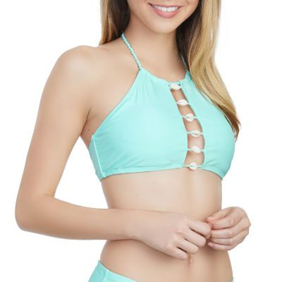 1ad32dd46e Buy Arizona High Neck Swimsuit Top-Juniors at JCPenney.com today and Get  Your Penney's Worth. Free shipping available