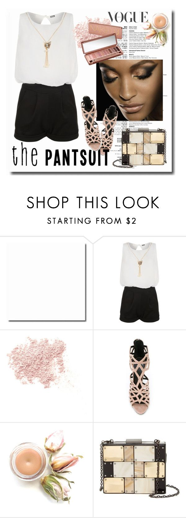 """""""Untitled #603"""" by looks-lie ❤ liked on Polyvore featuring WearAll, Bare Escentuals, Urban Decay, Giuseppe Zanotti and Sondra Roberts"""