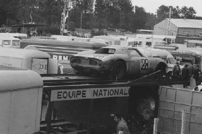 1966 Le Mans Ferrari 250 LM Equipe National Belgique