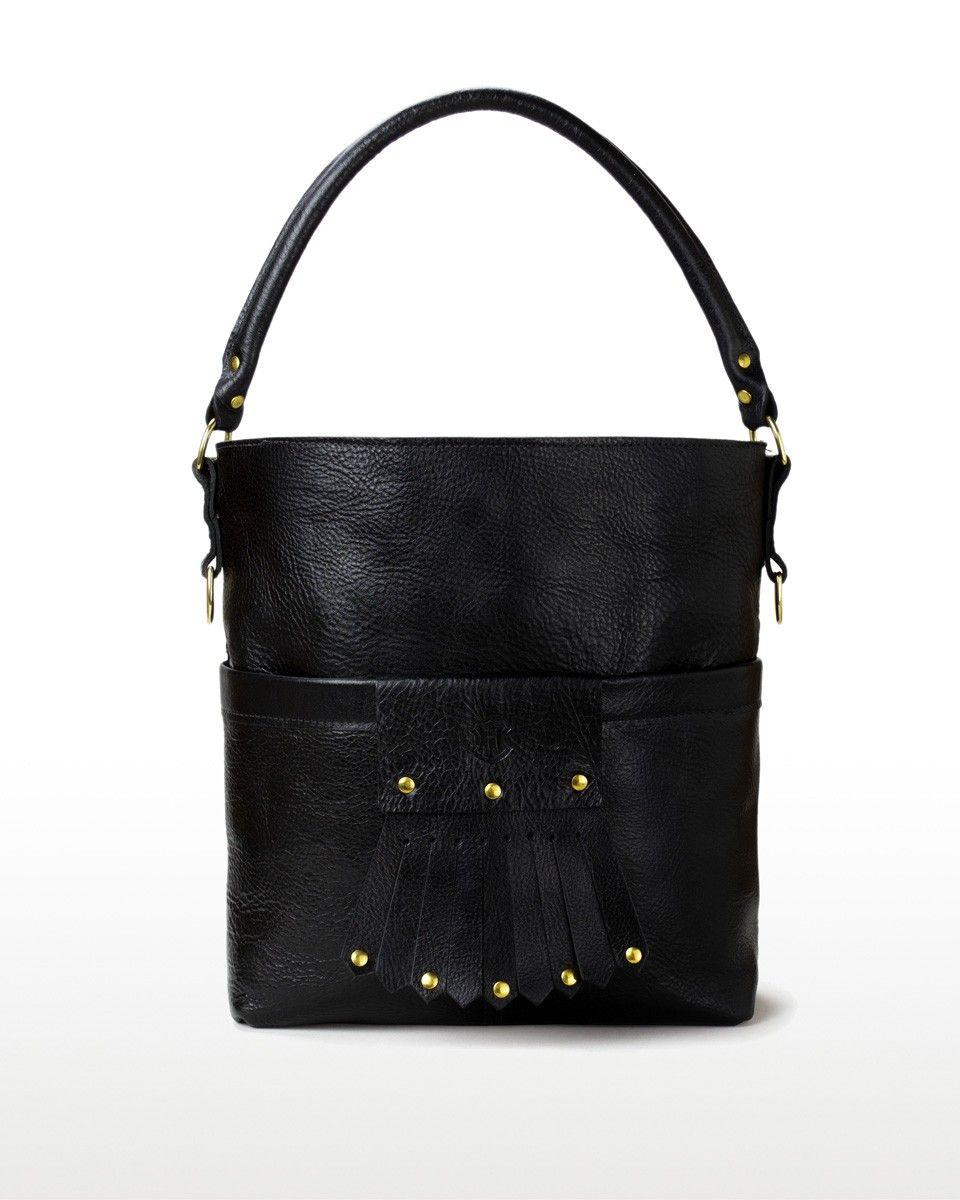 Blair Handbag. Hulme Company Blair Handbag in Lakeworth Onyx Leather 168e14c70f209