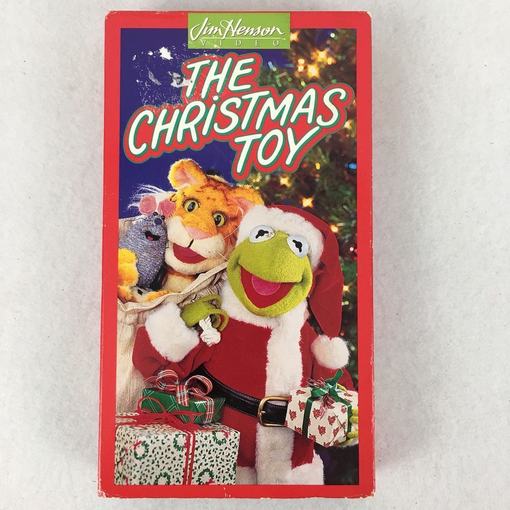 The Christmas Toy VHS Jim Henson Muppets Kermit The Frog Video Tape ...