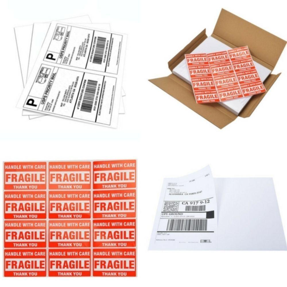 Shipping Labels for Laser Inkjet & Printers 200 Labels