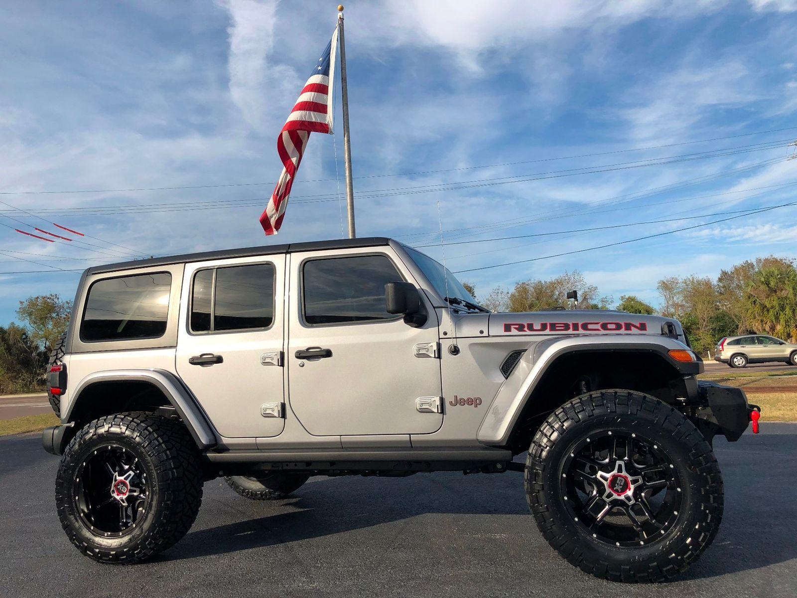 20 X12 Xd Clamp Wheels 2 5 Mopar Fox Lift Kit 2018 Jeep All