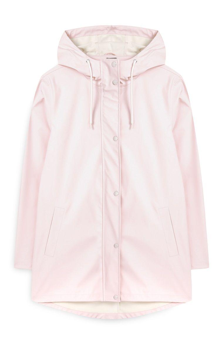 94cb78847 Primark - Blush Hooded Rain Jacket | My Style in 2019 | Raincoat ...