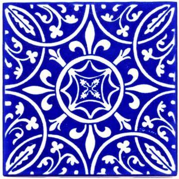 Fleur De Lis Circle Pattern Renaissance Tile Wall Plaque Rt 11 Tile Art Renaissance Art Circle Pattern