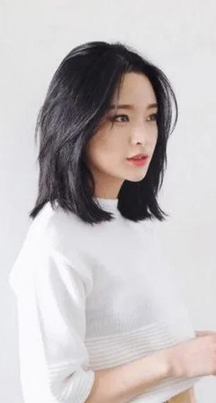 Potongan Rambut Paling Apik 2019 Wanita Asia 10 Ide 1 Cute Medium Length Hairstyles Medium Length Hair Styles Asian Hair Medium Length
