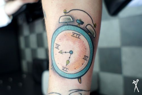 Alarm Clock Tat With Images Tattoos