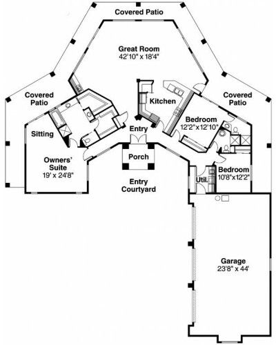 Pin By Shelly Keeling Skinner On The Rancher S Wife Courtyard House Plans L Shaped House Plans Ranch House Plans