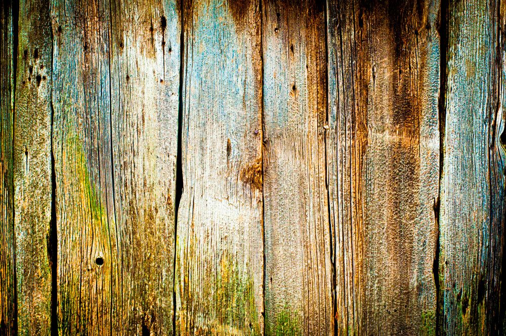 Closeup Of Old Wood Planks Texture Background Wall Mural