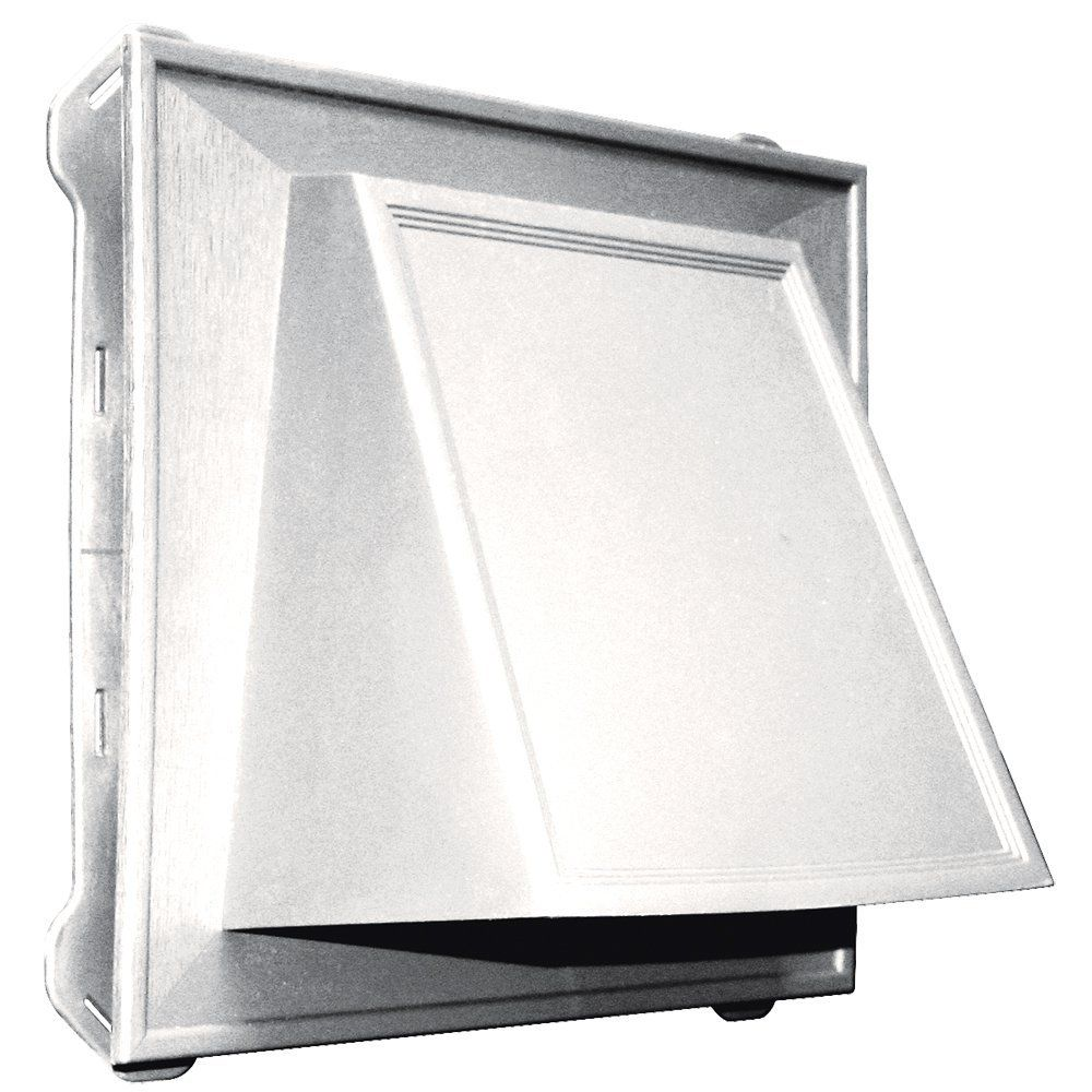 Builders Edge 140086774117 8 Hooded Vent 117 Bright White Learn More By Visiting The Image Link Builders Edge Gray And White Kitchen Exhaust Fan Kitchen