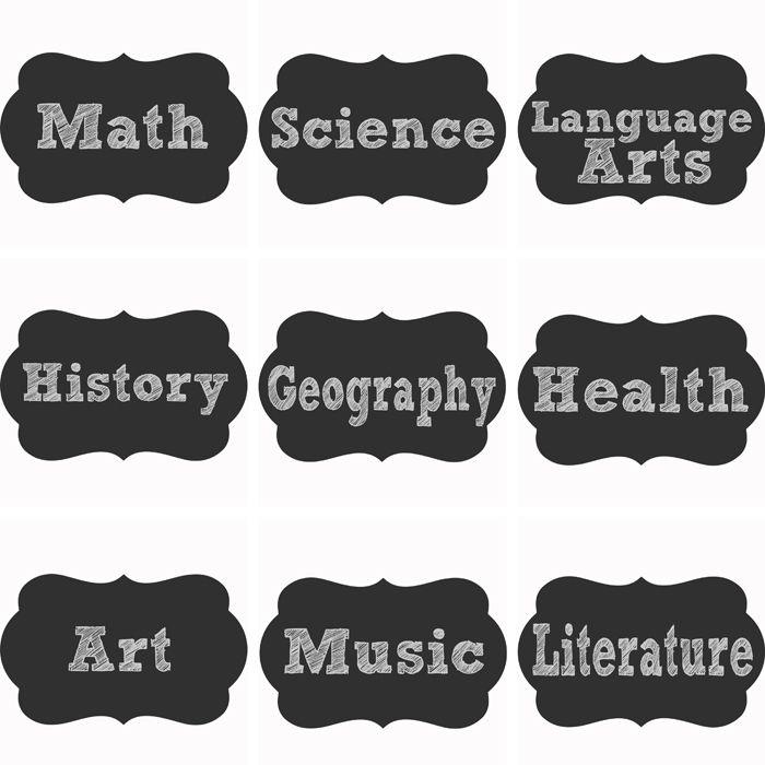 School Book Printable Labels   Craft printables   Pinterest   Plantas