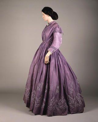 Lilac Muslin Dress