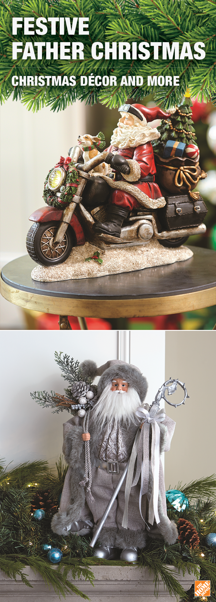 He's coming to town! Bring home a Saint Nick statuette and make your holiday merrier.