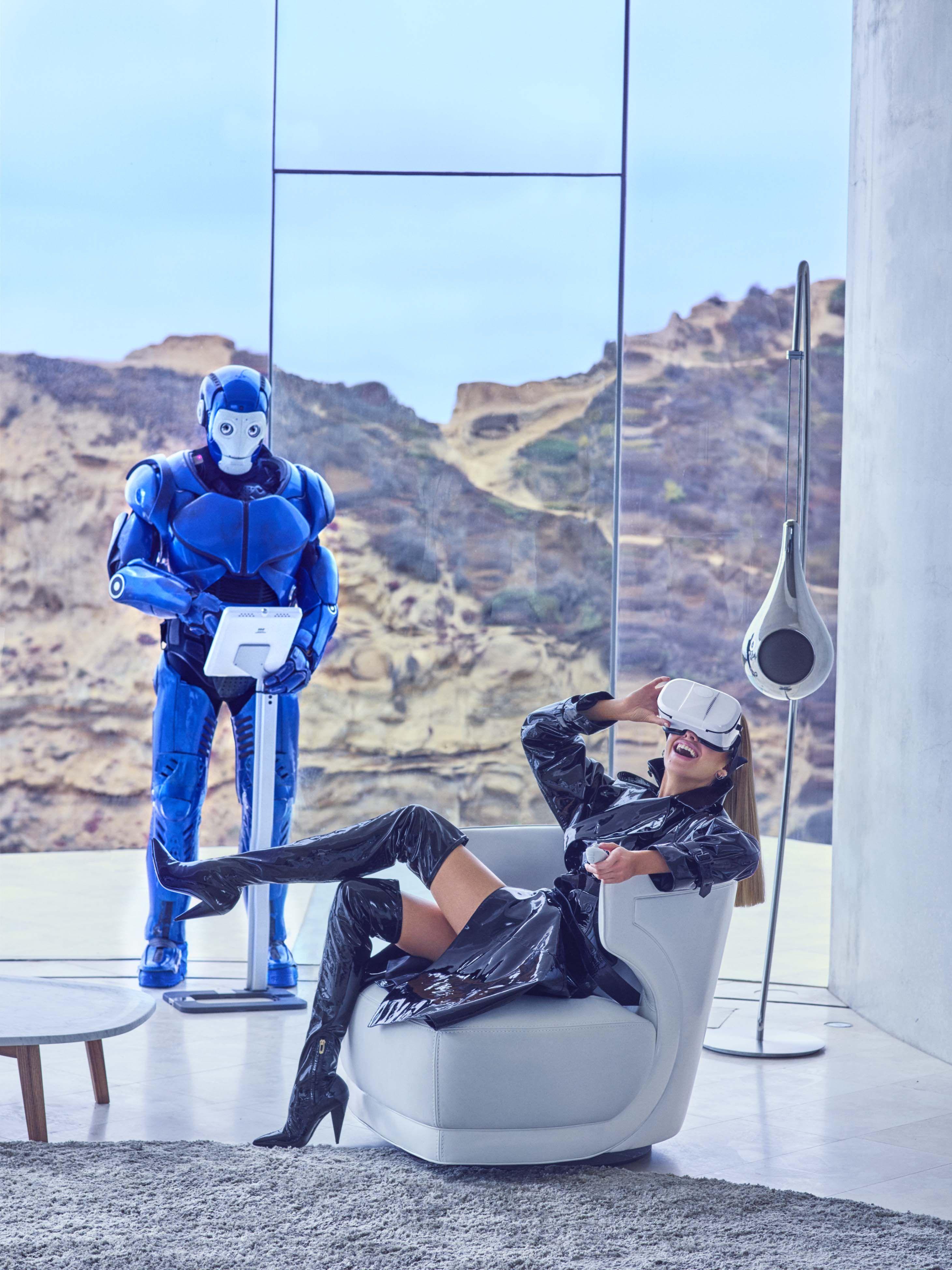 The Fashion Of Tomorrowland Futuristic Fashion Stella Maxwell Virtual Reality