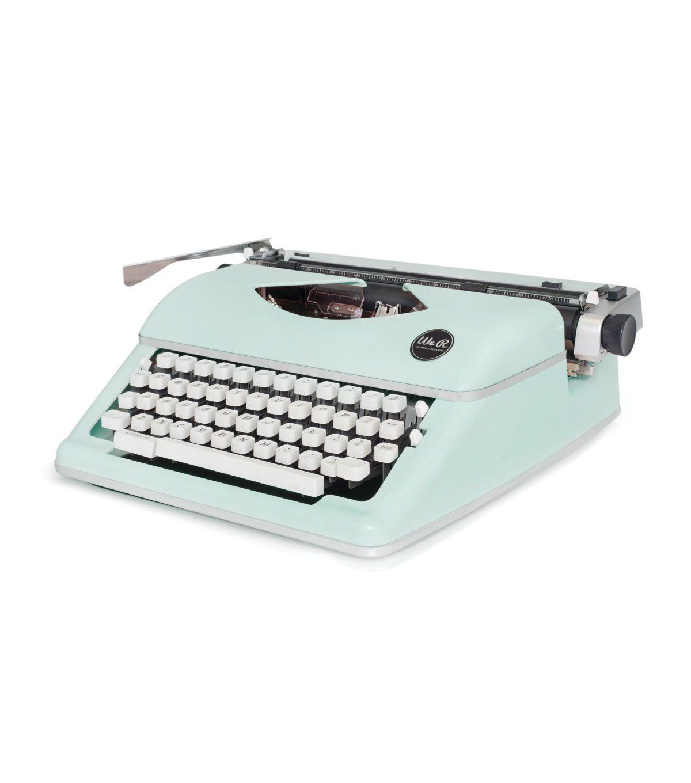 We R Typecast Typewriter Ribbon white//black