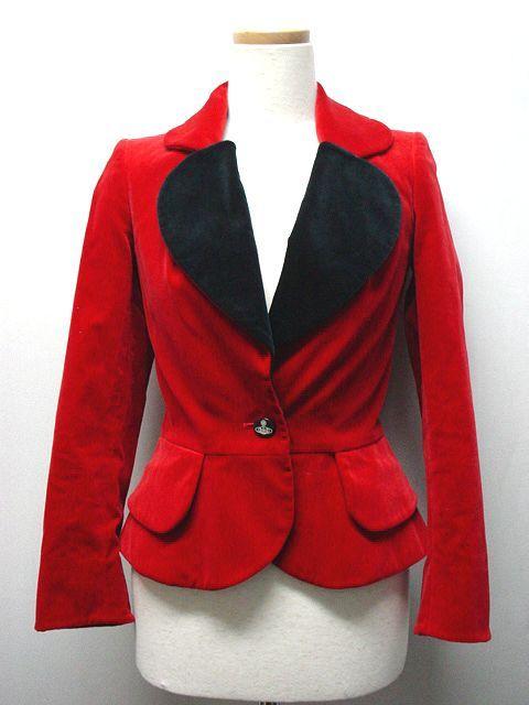 3d03a3f0d2 Vivienne Westwood Heart Lapel Jacket (rare vintage)