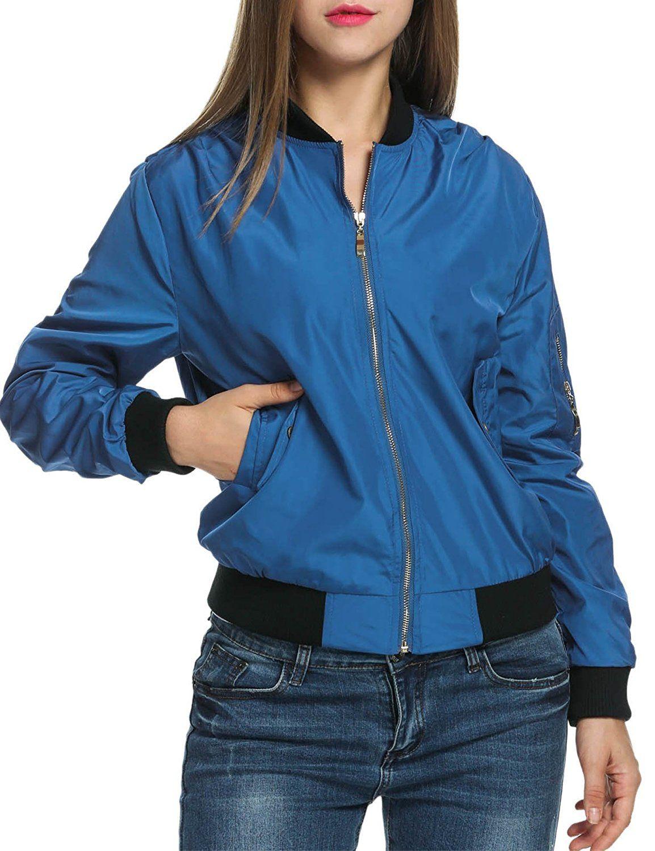 Zeagoo Women Classic Quilted Jacket Short Bomber Jacket Coat At Amazon Women 39 S Coats Shop [ 1500 x 1154 Pixel ]