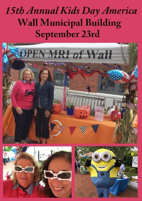 Open Mri Of Wall Celebrated Being Part Of The Community On Saturday September 23rd In The Court Yard At The Wall Munici Holidays And Events Kids Kids Learning