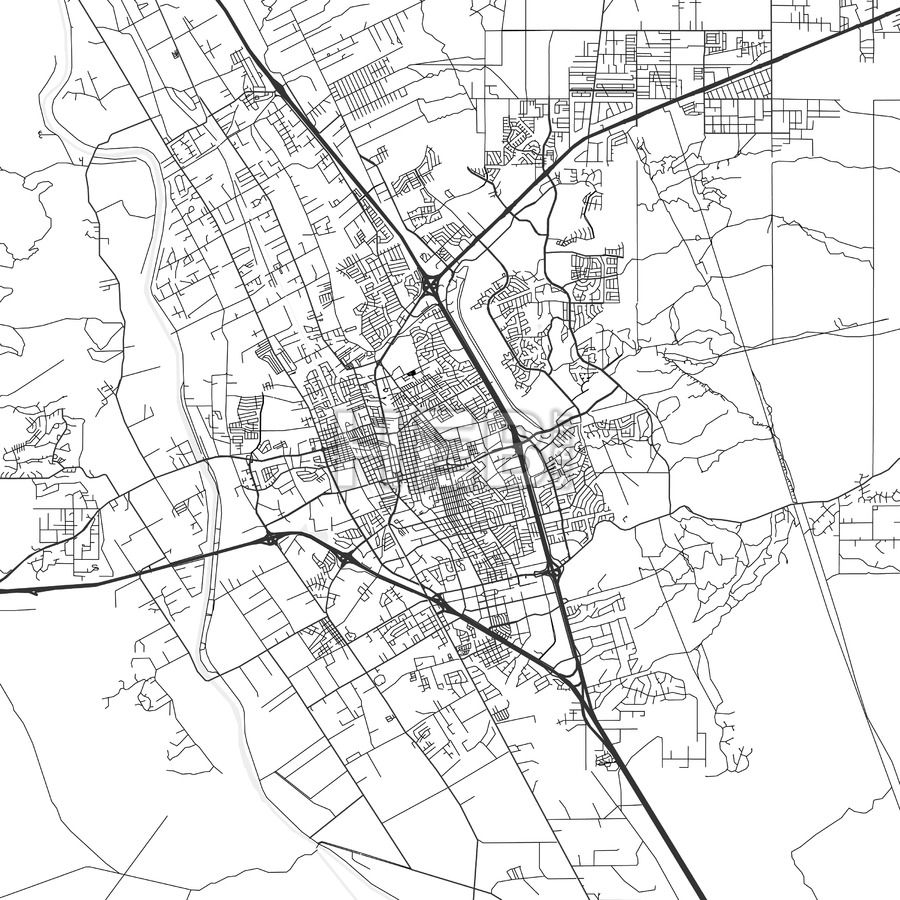 Las Cruces New Mexico Area Map Light Las cruces and Ui ux