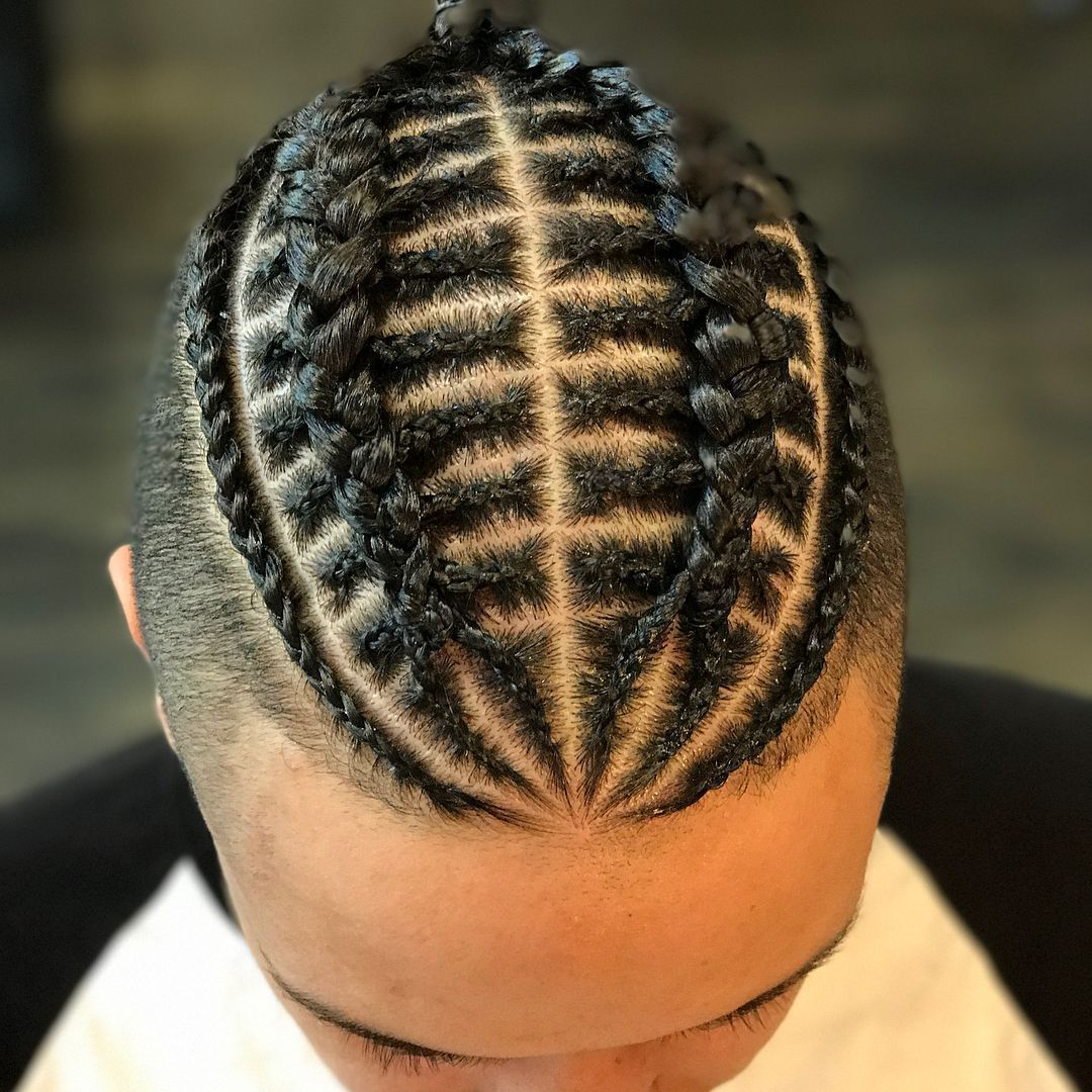 Cool Braids Hairstyles For Men #braidedhairstylesformen