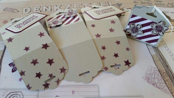 einfache aber schöne Geschenkverpackung für Raffaello oder ähnliches...