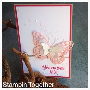 Stampin' Together!: You are loved ( A lot )