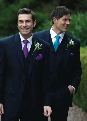 Purple And Turquoise Suits And Ties For More Suits In The Range
