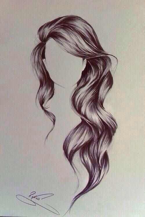 Photo of Awesome Hair Drawings For Fashion And Art Too – Bored Art