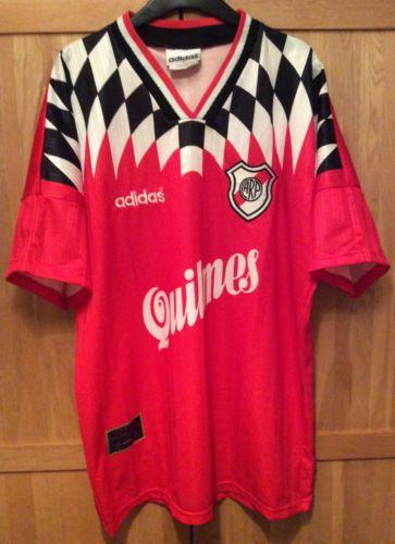 River-Plate-Ultra-Rare-1996-Away-Football-Shirt-Jersey-Camiseta-Trikot-L 1073e91e4